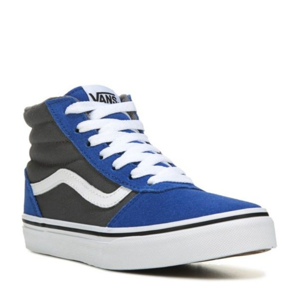 8b94669ca72f VANS youth Ward Hi Top Two Tone Sneaker suede high.  M 5aba6ee6739d48aaf1a4249b